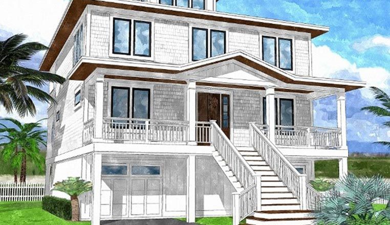 Bay Island Home Plan